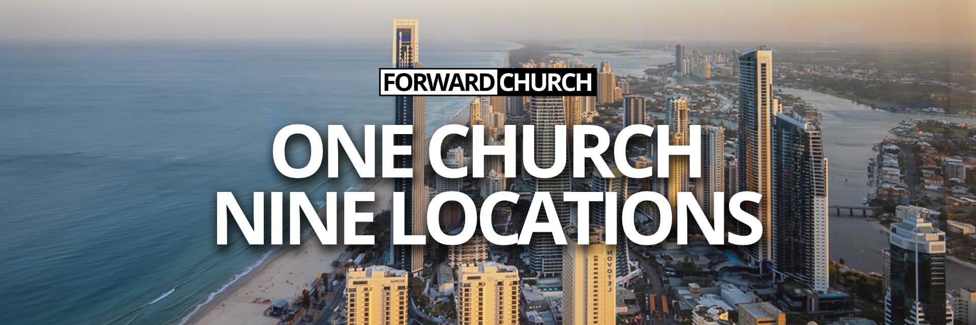 One Church Nine Locations
